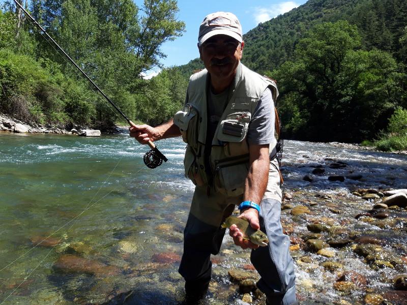 Guide pêche Catalogne Pallaresa